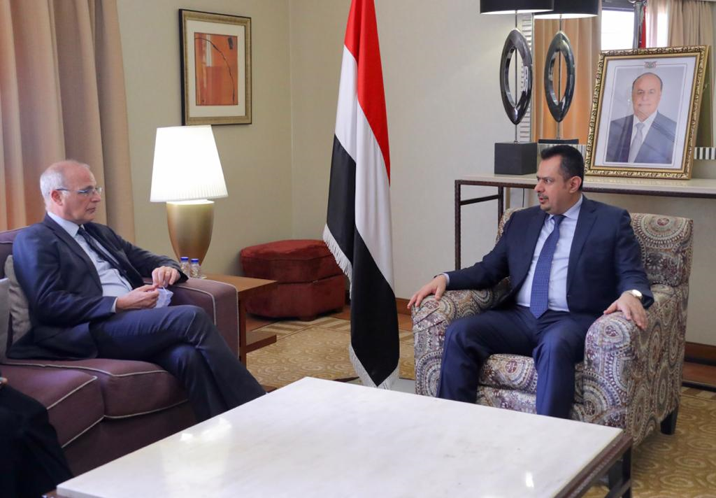 رئيس الوزراء: التغاضي الأممي يشجع مليشيا الحوثي على مزيد من التمادي