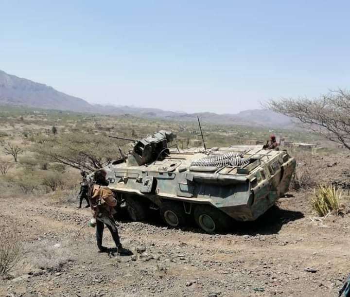 ريف تعز الغربي.. الجيش يتقدم بخطى ثابتة ومواقع المليشيا تتهاوى