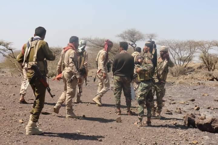 الجيش الوطني يحرز تقدماً جديداً في الطوير الأعلى بجبهة مقبنة غربي تعز