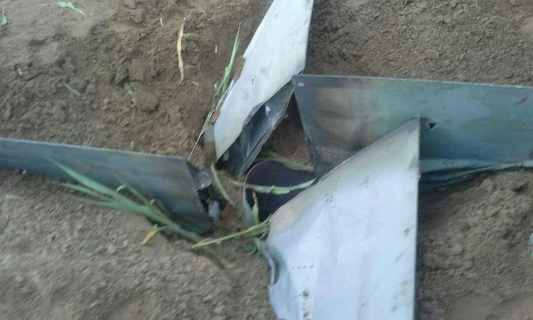 سقوط صاروخ باليستي في صعدة أطلقته مليشيا الحوثي من عمران