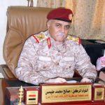 قائد المنطقة العسكرية الأولى: لن نسمح بعودة الارهاب وندعم مشروع الدولة الاتحادية